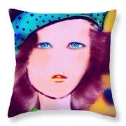 Melissandre Throw Pillow