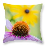 Mellow Yellow Throw Pillow