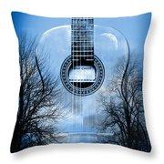 Melody Mystic Night  Throw Pillow