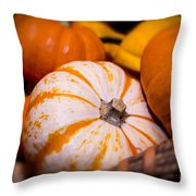 Melons Throw Pillow by Nelson Watkins