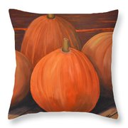 Melons Throw Pillow