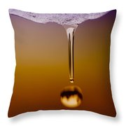 Melt Two Throw Pillow