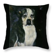 Member Of A Family Throw Pillow