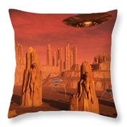 Members Of The Planets Advanced Throw Pillow