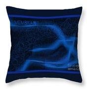 Membrane 2 Throw Pillow