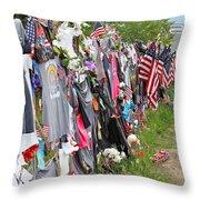 Memorial 2 Throw Pillow