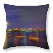 Memorial Drive - Cambridge Throw Pillow