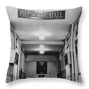 Memorial Hall Pphs Throw Pillow