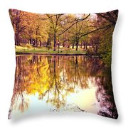 Memorial Park - Henry County Throw Pillow