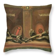 Memorial To John And Thomas Throw Pillow