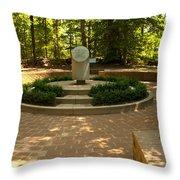 Memorial To The Slaves Throw Pillow