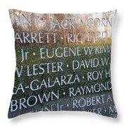 Memorialized Throw Pillow