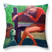 Memories Throw Pillow by EricA Art