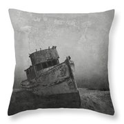 Memories Left At Sea Throw Pillow