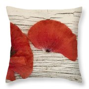 Memories Of A Summer Horizontal Throw Pillow by Priska Wettstein
