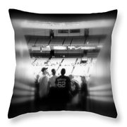 Memories Of Entering The Cathedral Of Baseball Throw Pillow