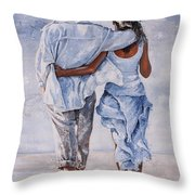 Memories Of Love Throw Pillow