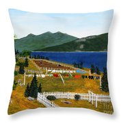 Memories Of Monday Throw Pillow
