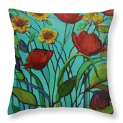 Memories Of The Meadow Throw Pillow