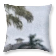Memories Of The Tropics Throw Pillow