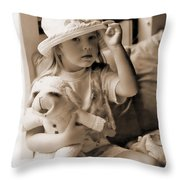 Memories Out Of Time Throw Pillow