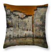 memory of hometown No.10 Throw Pillow