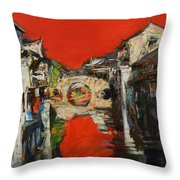 memory of hometown No.12 Throw Pillow