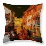 memory of hometown No.5 Throw Pillow