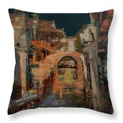 memory of hometown No.8 Throw Pillow