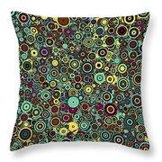 Memory Of Klimt Throw Pillow