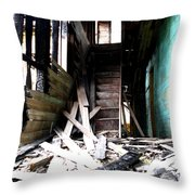 Memory Of Stairs Throw Pillow