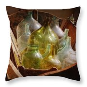 Memory Of The Past Throw Pillow