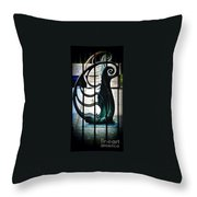 Memory Of Yesterday Swims Throw Pillow