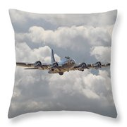 Memphis Belle - Homecoming Throw Pillow