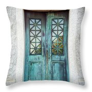 Memphis Elmwood Cemetery - Humes Crypt Throw Pillow