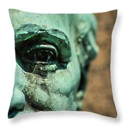 Memphis Elmwood Cemetery Monument - The Governor Throw Pillow