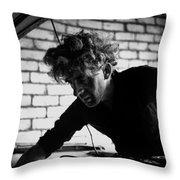 Men At Work - Series I Throw Pillow