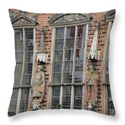 Men Of The Law Throw Pillow