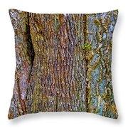 Menage A Tree Throw Pillow