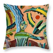 Menino Na Amazonia I Throw Pillow