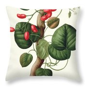 Menispermum Throw Pillow