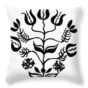 Mennonites Hex Sign Throw Pillow