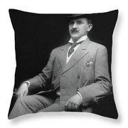 Men's Fashion, C1905 Throw Pillow