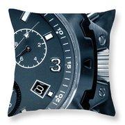 Mens Watch Close Up Throw Pillow