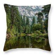 Merced Morning Throw Pillow