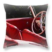 Mercedes Benz 190 Sl Throw Pillow