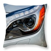 Mercedes Benz Light Throw Pillow