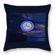 Mercedes Benz Logo Throw Pillow
