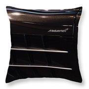 Mercedes Benz Mclaren Throw Pillow