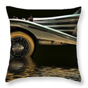 Riplets Throw Pillow